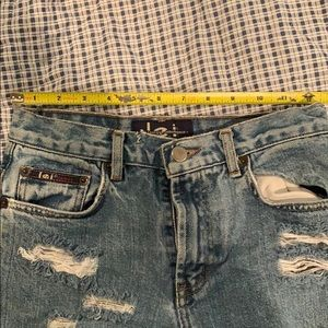 lei Shorts - Vintage denim shorts